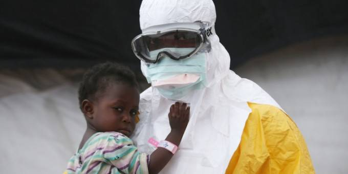 ebola bambini contagiati