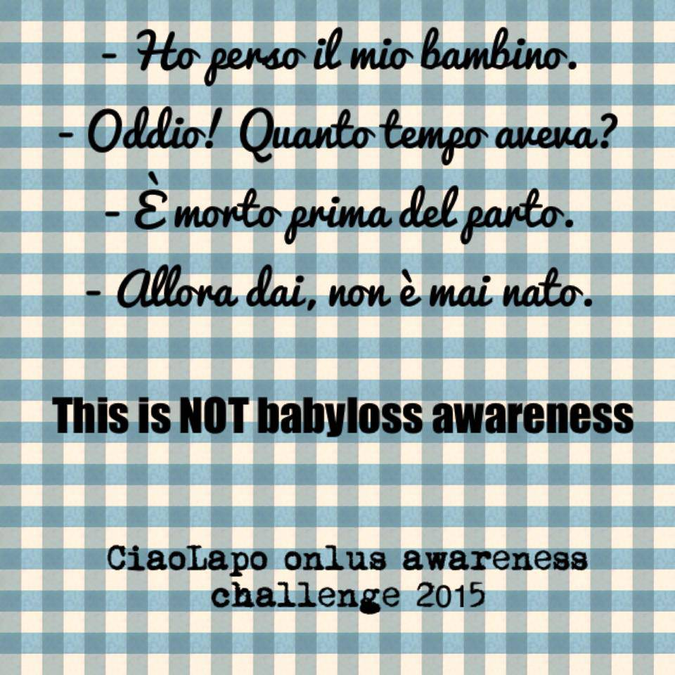 Babyloss Awareness 2015 - 1