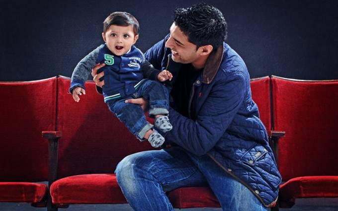 Faiyaz and Zayaan padre e figlio