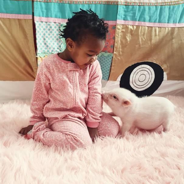 Libby e il mialino Pearl