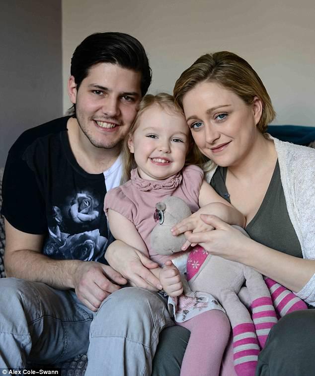 alex nathan e figlia willow