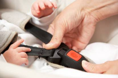 Mother Fastening Safety Clip On Baby Seat