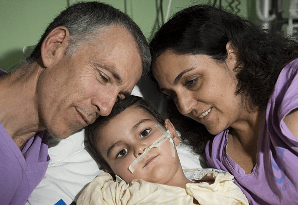 bambino guarito dal tumore