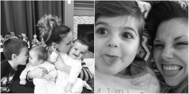 mamma bacia figli