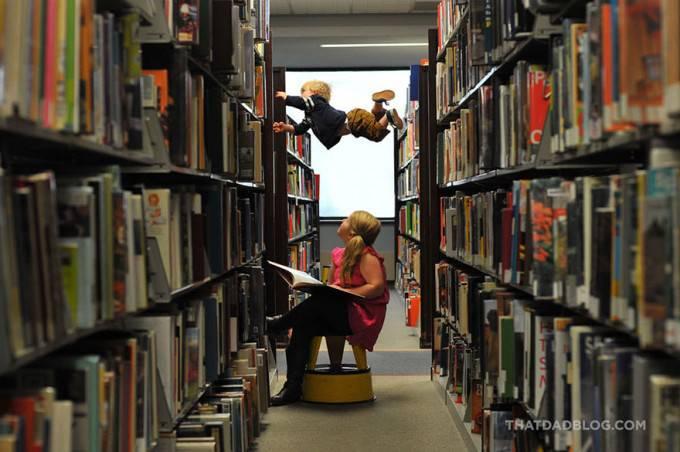 bimbo vola in libreria