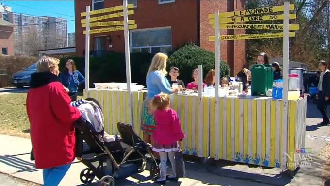 bimbi stand limonata