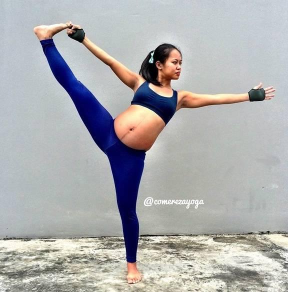 mamma in equilibrio