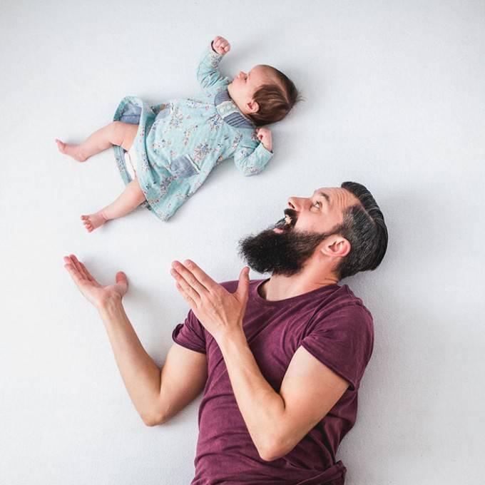 papà lancia figlio