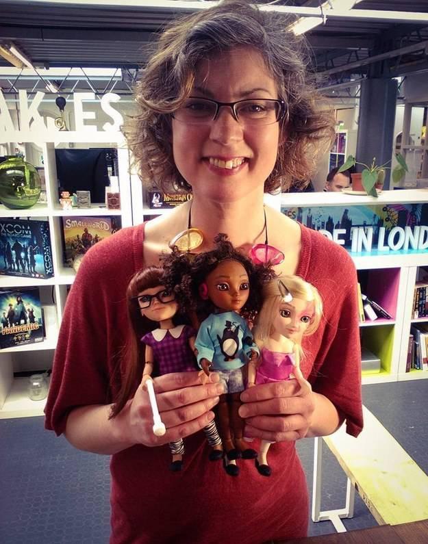 creatrice bambole