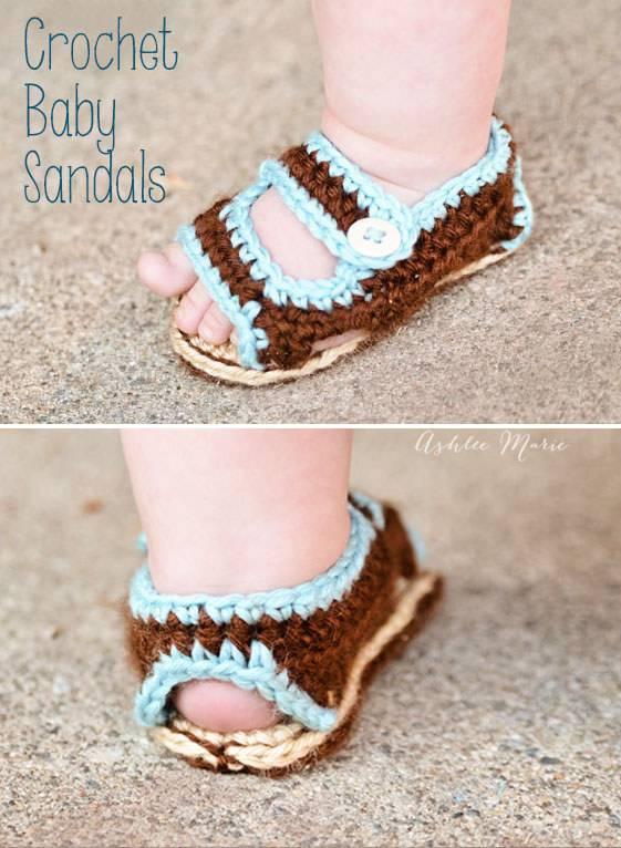 sandali uncinetto