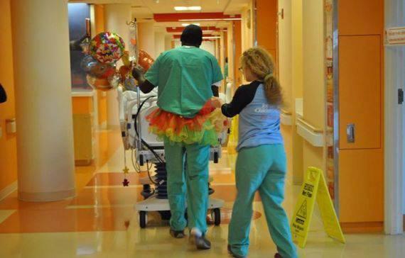ospedale con tutù