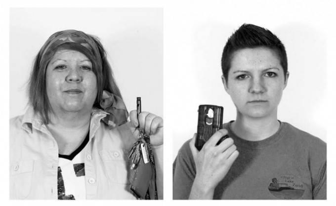 donne con oggetti antistupro