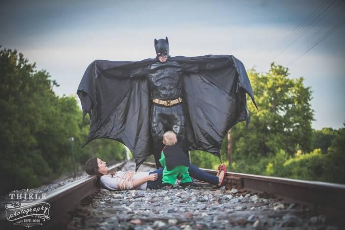 Batman-salva mamma