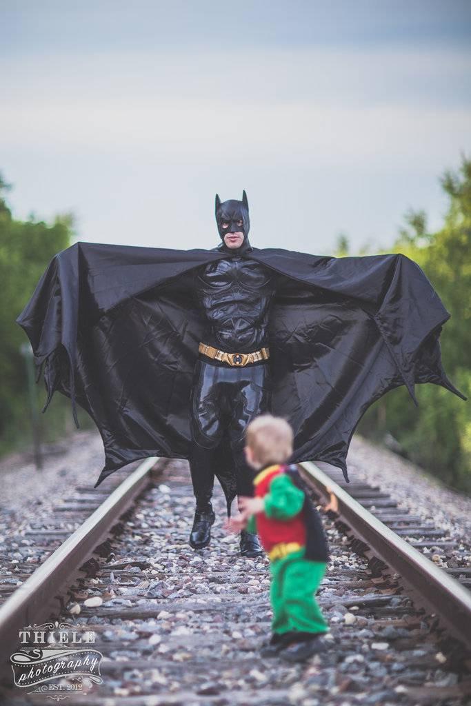 Batman-insegue robin