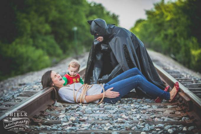 batman salva mamma