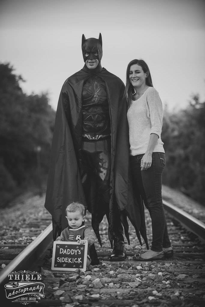 famiglia batman e robin