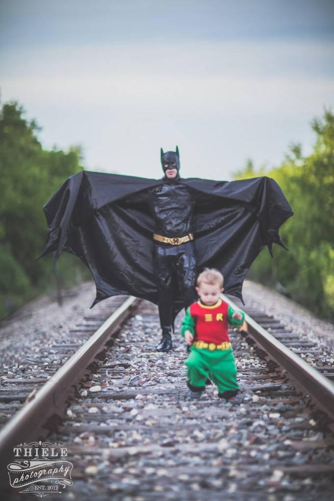 Batman- e piccolo robin