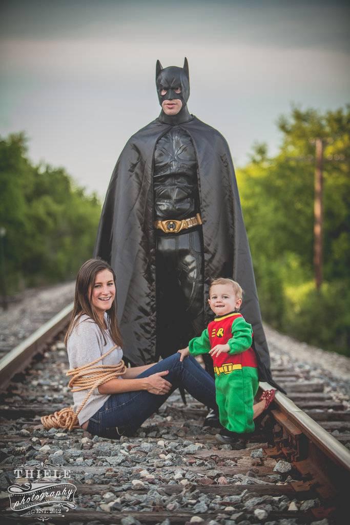 famiglia supereroi