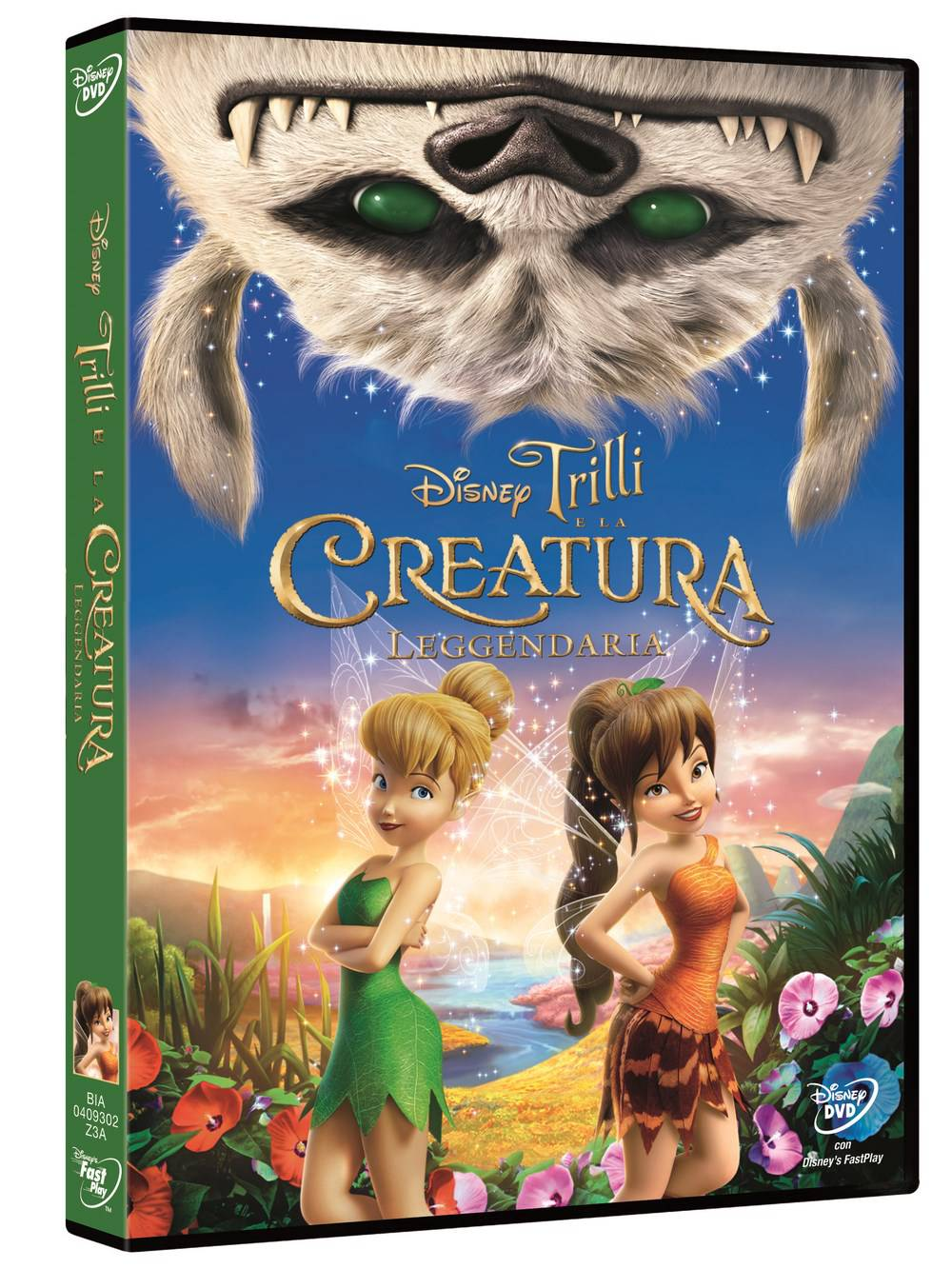 Trilli e la creatura leggendaria in dvd: recensione