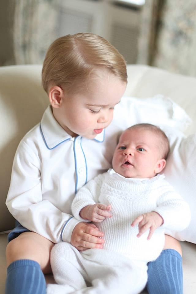 Principe George e Principessa Charlotte