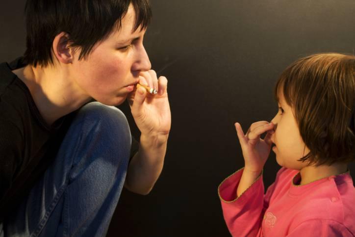 fumo passivo e bambini