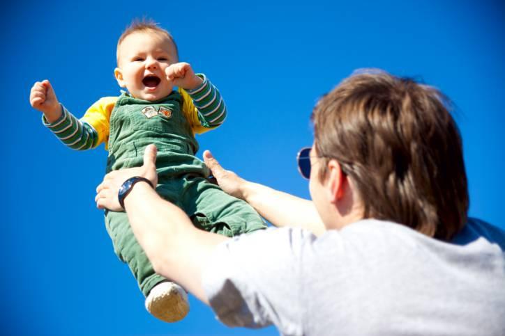 papà e bambini