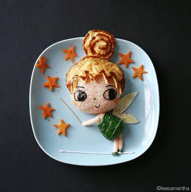 Una mamma crea fantastici piatti ispirati a film e cartoni animati per le figlie: 5 meravigliose immagini (FOTO)