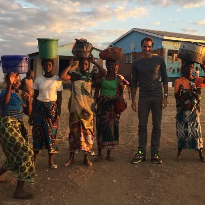 Federer in Africa
