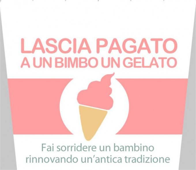 gelato in sospeso