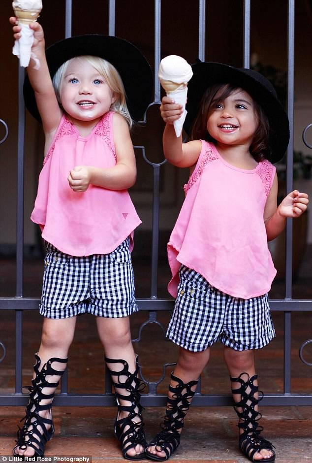 Top bambine alla moda: hanno 2 anni ma sono piccole modelle : VX77