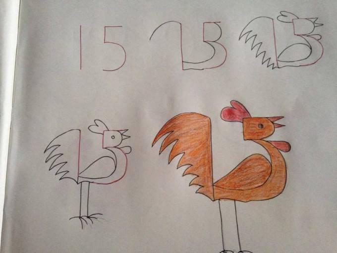 gallo numero