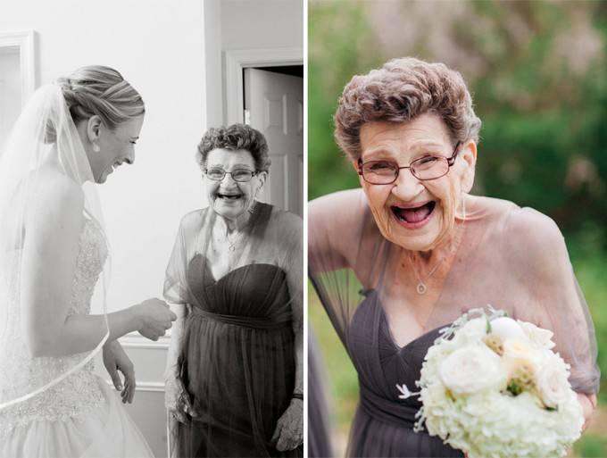sposa e nonna
