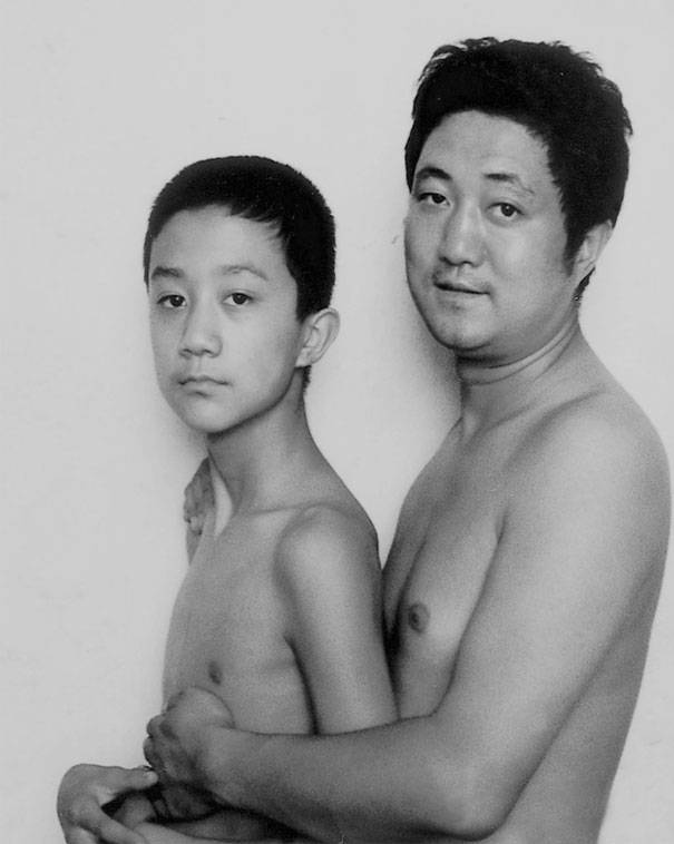 papà e bimbo 1998