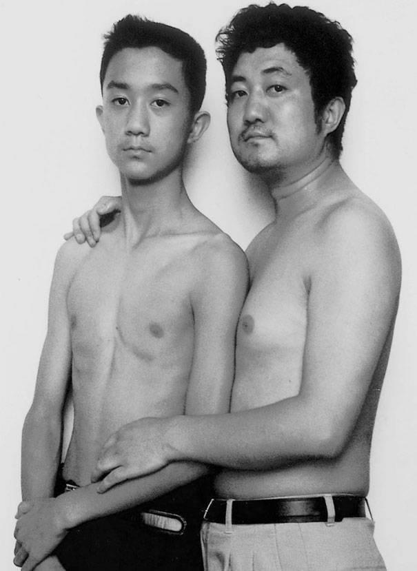 papà e figlio 1999