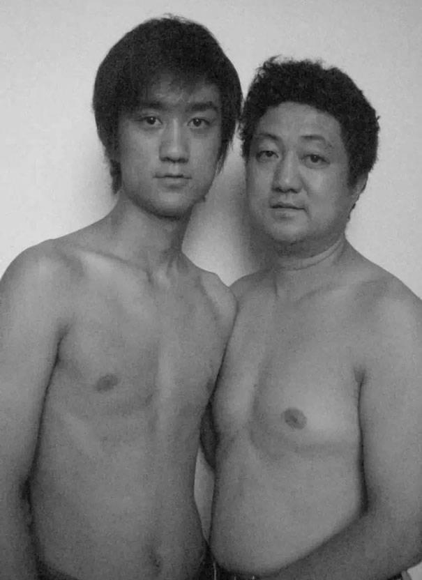 papà e figlio 2005