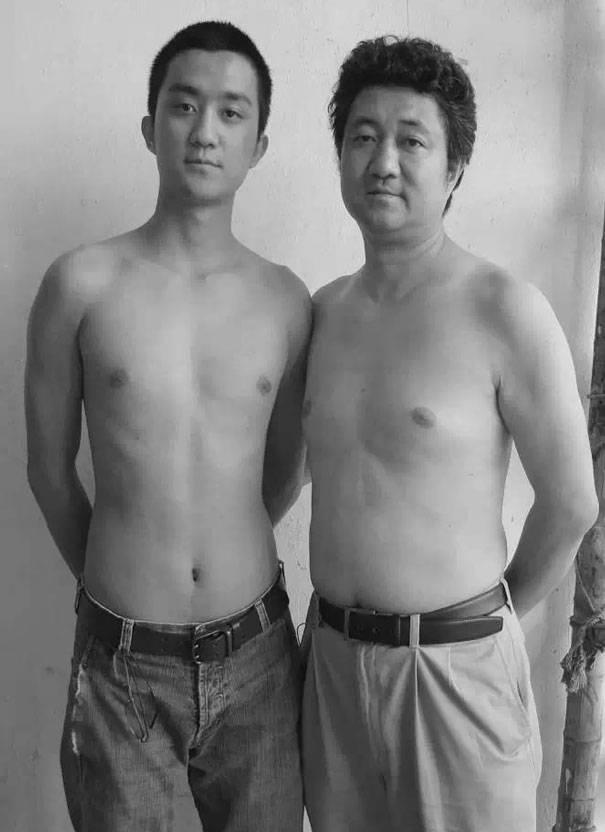 papà e figlio 2009