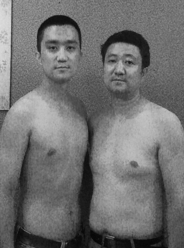 papà e figlio 2010