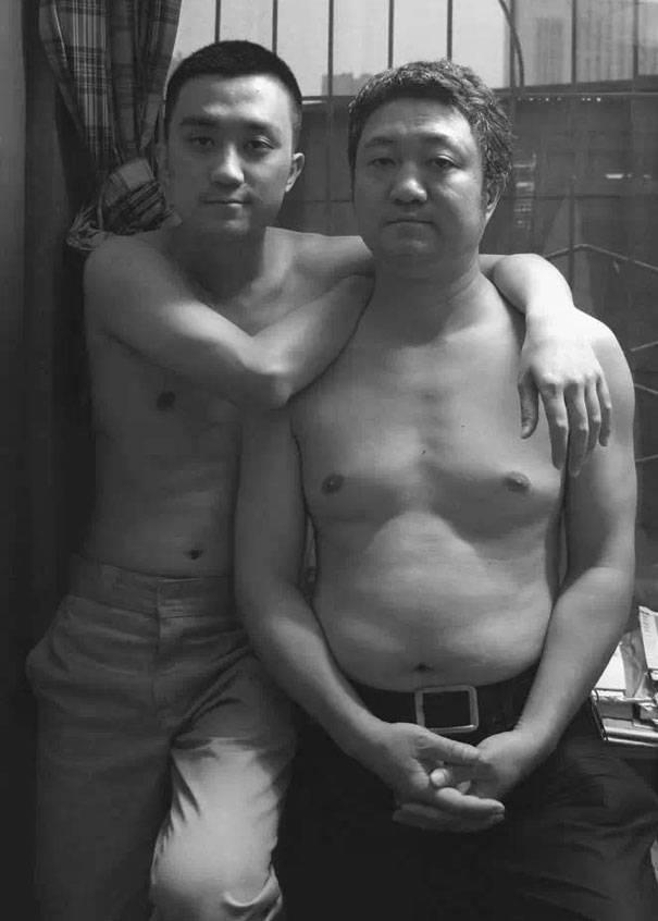 papà e figlio 2011