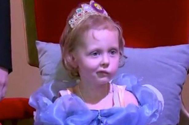 bambina malata di cancro