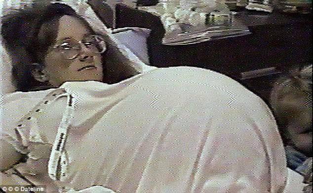 donna partoriente