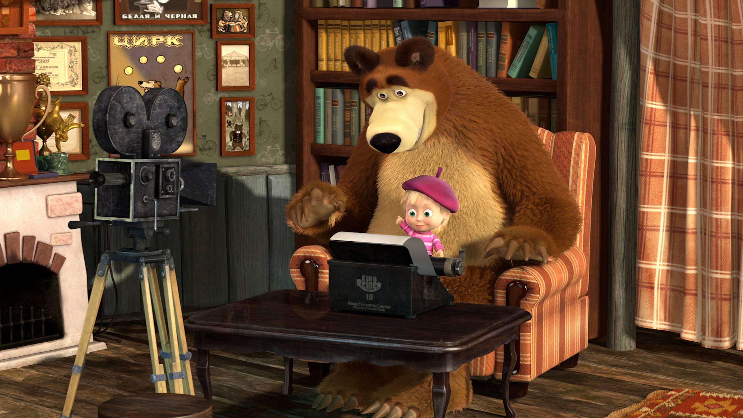 Masha e Orso: amici per sempre – il trailer del film