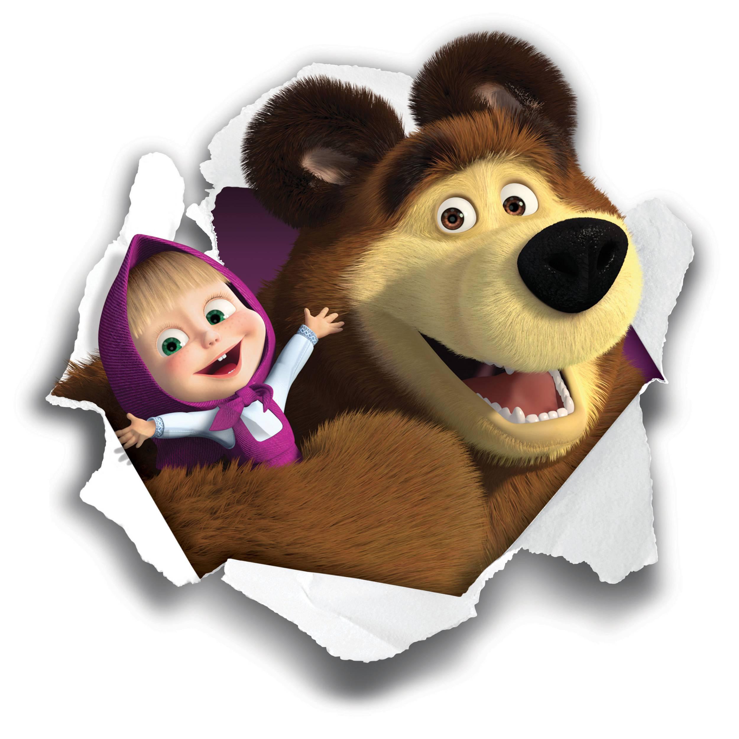 Masha e orso arriva il film di natale per i pi piccoli for Masha e orso disegni da colorare
