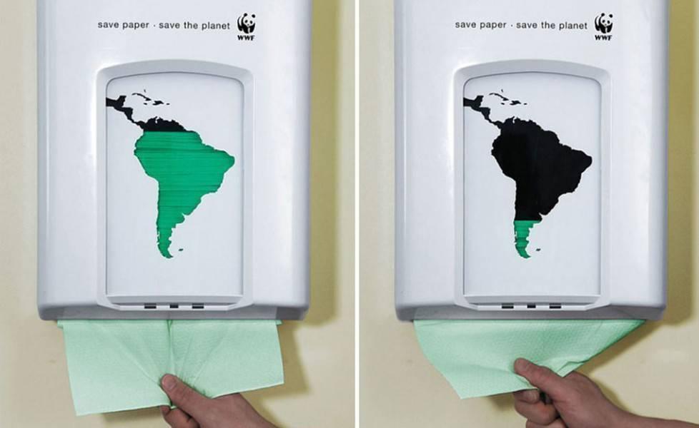pubblicità ambiente