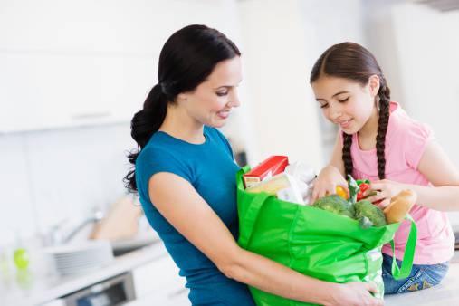 bambini e spesa
