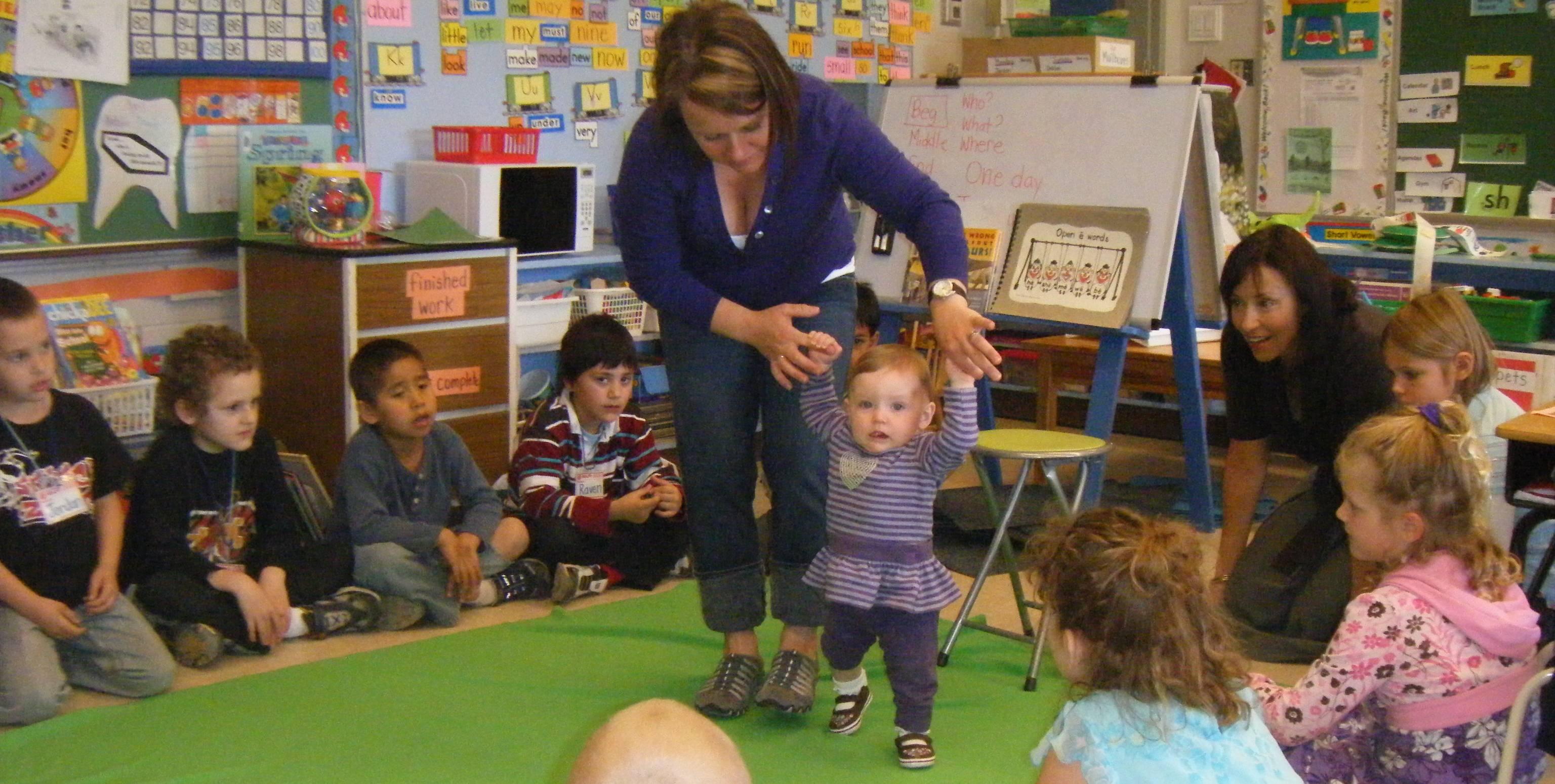 bambini insegnano