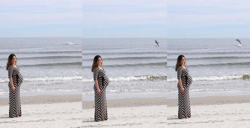 foto di una mamma incinta
