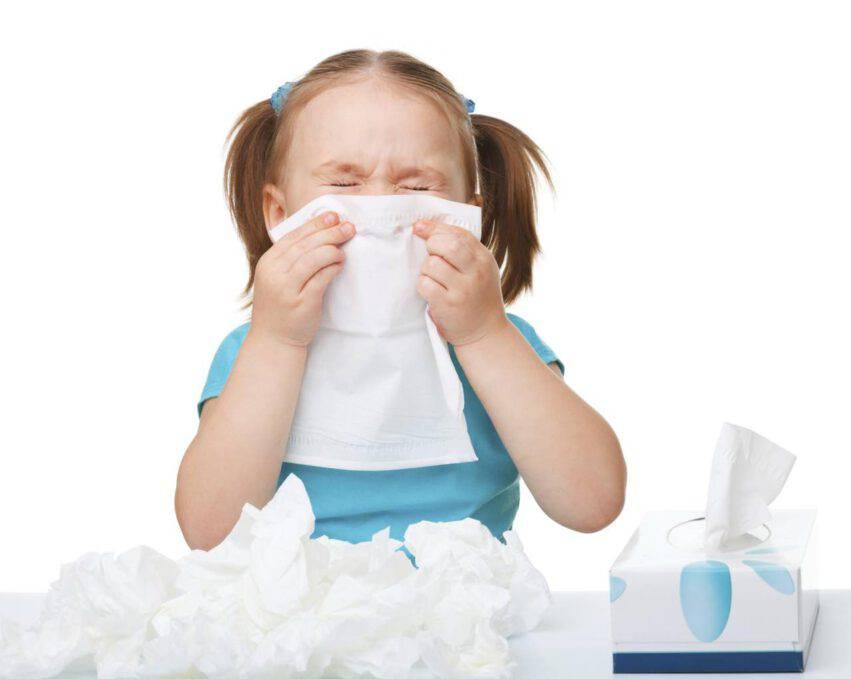 bambina allergie primaverili