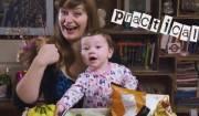 video ironico sull'allattamento