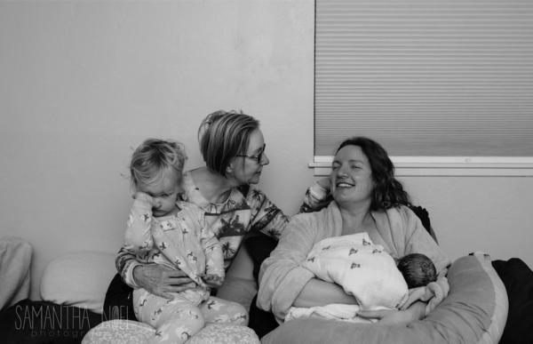 famiglia riunita