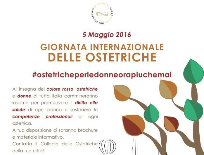 Giornata Internazionale dell'Ostetrica 2016: mamme e ostetriche insieme